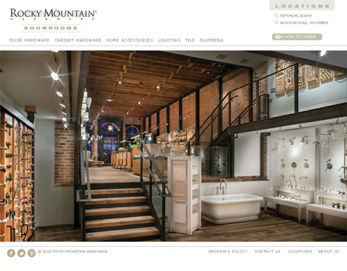 Rocky Mountain Hardware Showrooms